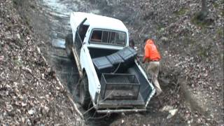 Old Ford Truck Makes Awesome Climb