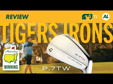 Tiger Woods' 82nd PGA Tour Title Winning Irons...TaylorMade P7TW Irons Review
