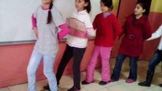Ali Tepe Topcubaği İlköğretim okulu Tokat Yöresi halk oyunlari kursu