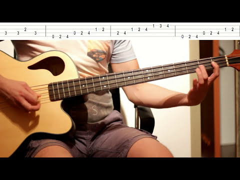 Nirvana - The man who sold the world (Mtv Unplugged bass tutorial)