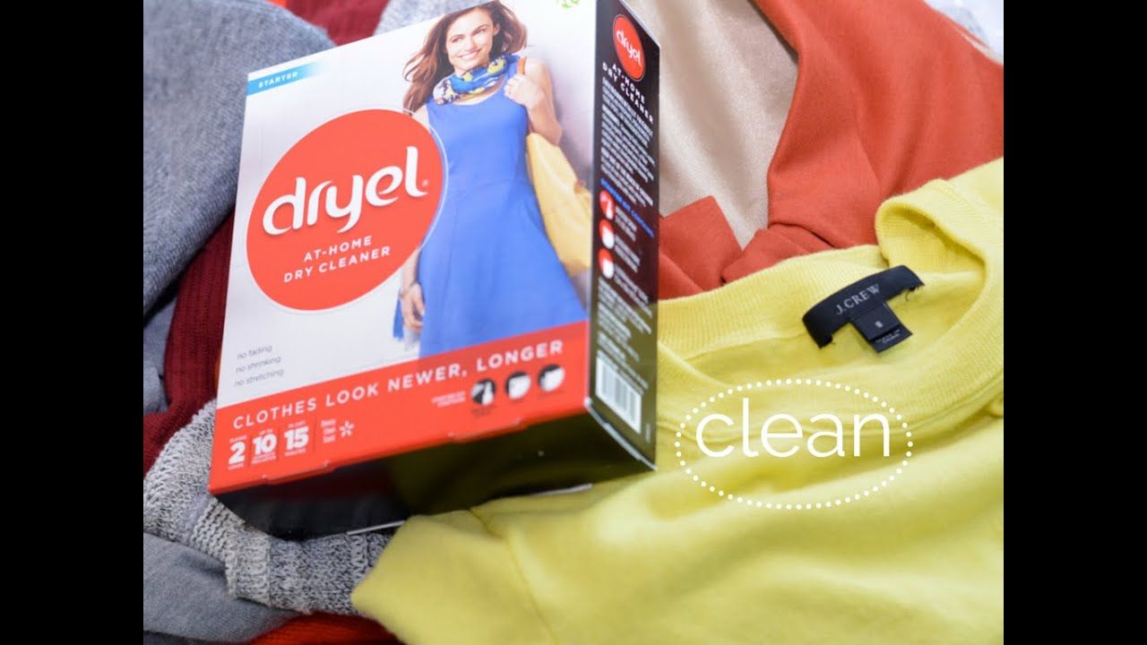 How to Use Dryel At - Home Dry Cleaner - YouTube