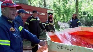 Επιτυχημένη η κατάσβεση πυρκαγιάς στον Ταΰγετο σε άσκηση της Πυροσβεστικής