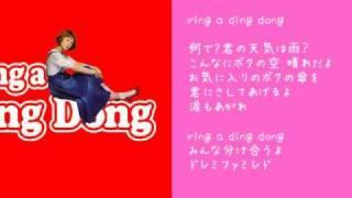 木村カエラの ring a ding dong を歌ってみた by儚