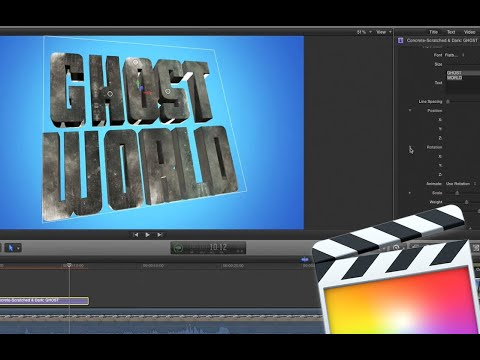 3D Styles for Final Cut Pro X - Tutorial