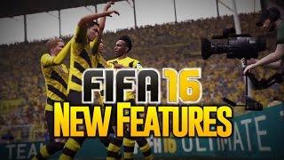 FIFA 16 FULL GAMEPLAY TRAILER E3 - NEW FEATURES - DEUTSCH