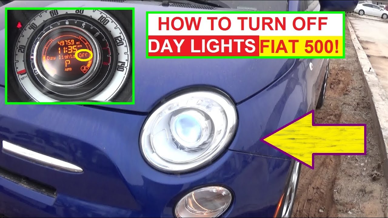 Fiat 500 Interior Lights Wont Turn Off