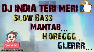 Dj India Teri Meri 2020 Full Bass Sound Miniatur - Dj Remix Slow Terbaru Full Lighting Karnaval