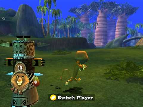 Madagascar Walkthrough PC -  Level 7 - Jungle Banquet - HD