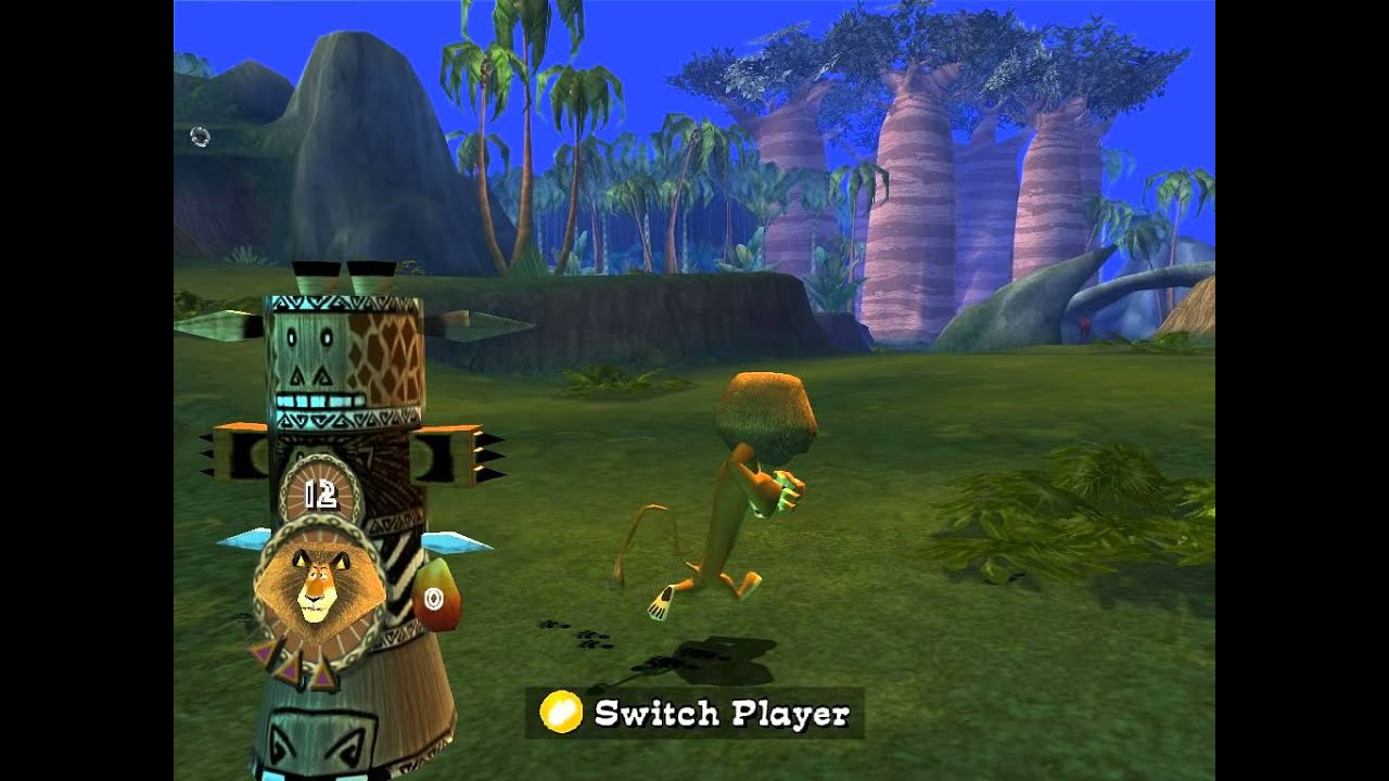 Madagascar Walkthrough PC Level 7 Jungle Banquet HD YouTube