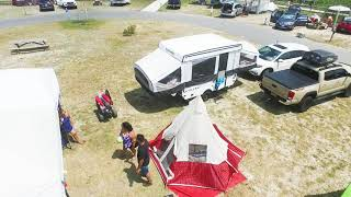 Camping in Delaware Seaṡhore State Park 2019