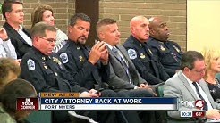 Ft. Myers city attorney back on the job
