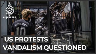 George Floyd protests: Questions about role of white protesters