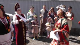 видео Свадьба в казачьем стиле Алексея и Виктории