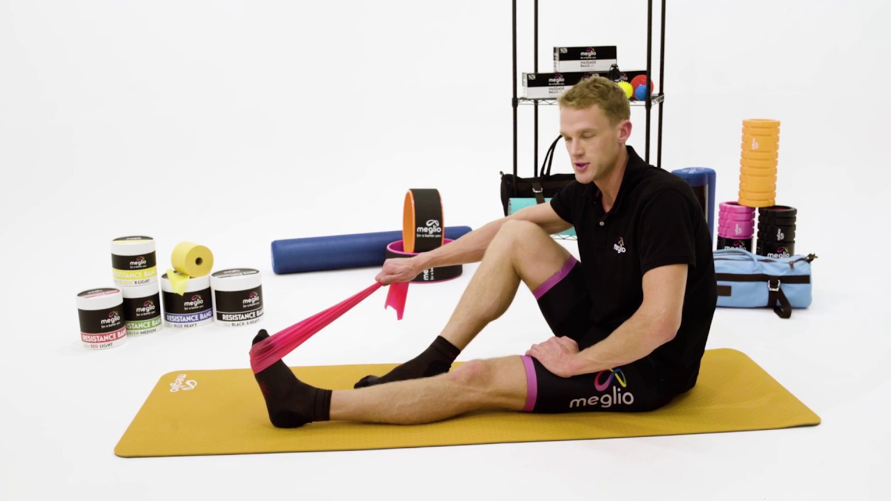 163cb278c Ankle Stability Exercises With Resistance Bands - YouTube