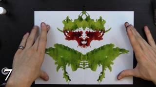 I made YOU a Rorschach INKBLOT test.
