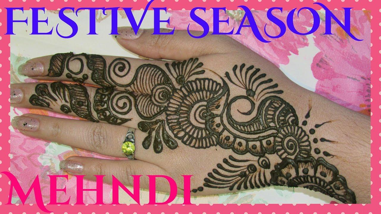 Indian mehndi designs 2016 - Festive Season Mehndi Design Indian Mehndi Designs Beautiful Mehndi Designs 2016
