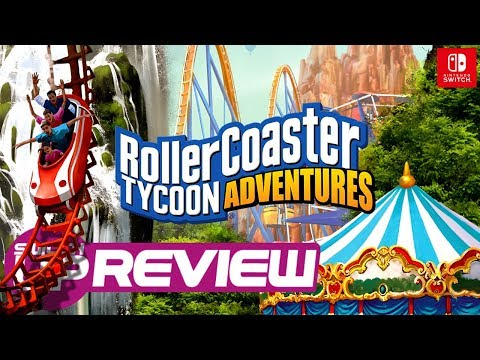 Roller Coaster Tycoon Adventures Switch Review - WORTH THE