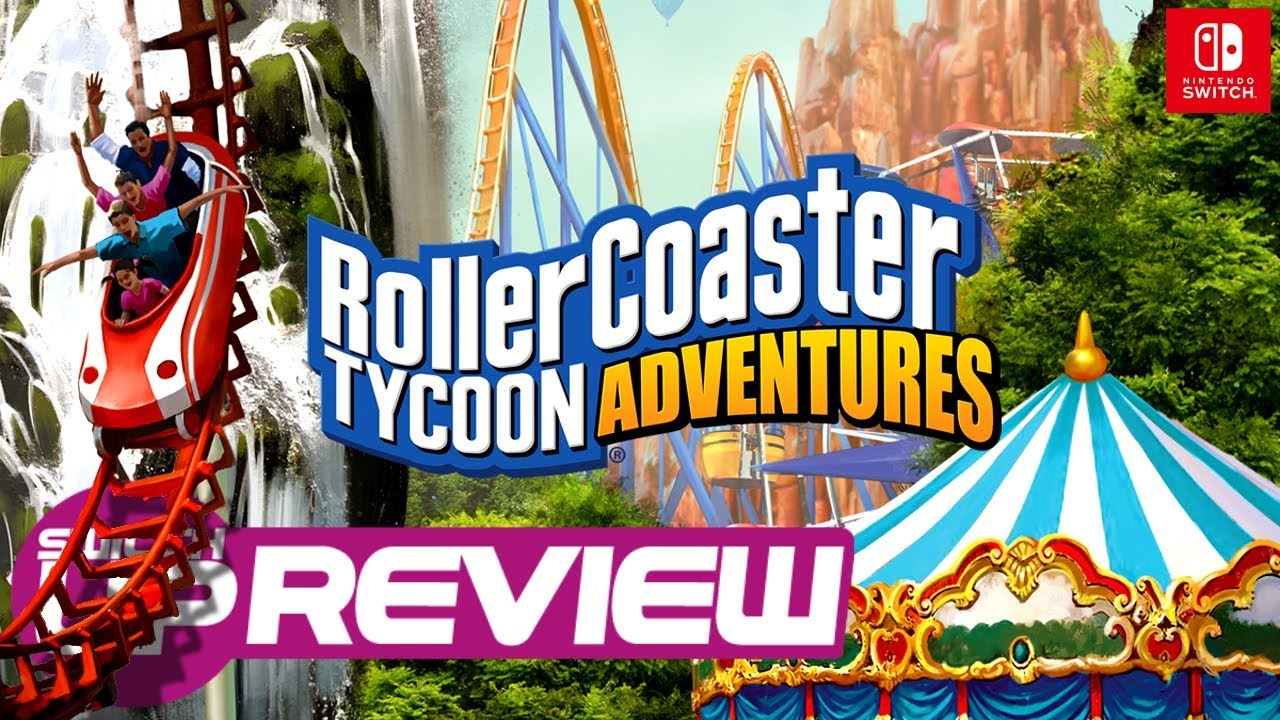 Roller Coaster Tycoon Adventures Switch Review - WORTH THE RIDE?