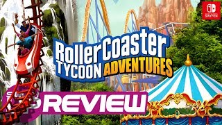 Roller Coaster Tycoon Adventures Switch Review   Worth The Ride?