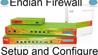 Endian Firewall Complete Setup from Start to Finish (HD)