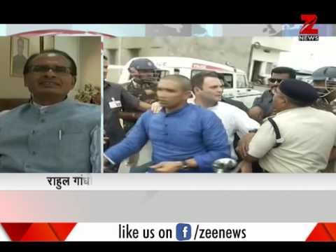 MP CM Shivraj Singh Chouhan won't spare Rahul Gandhi