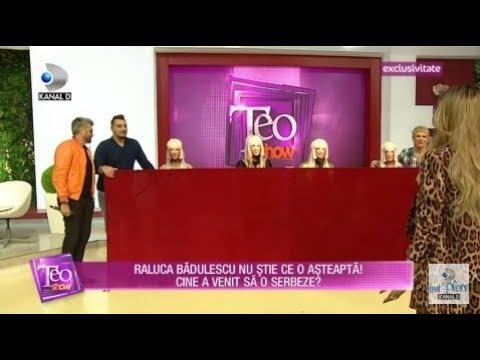 Teo Show (04.10.) - Raluca Badulescu, aniversare cu cei mai buni prieteni! N-a stiut ce o asteapta!