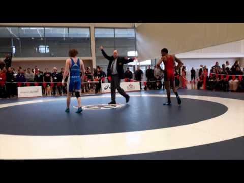 2015 Senior National Championships: 57 kg Lenford Morris vs. Josh Bodnarchuk