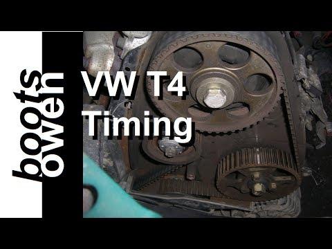 VW T4 1.9 ABL Cambelt Timing Belt Change