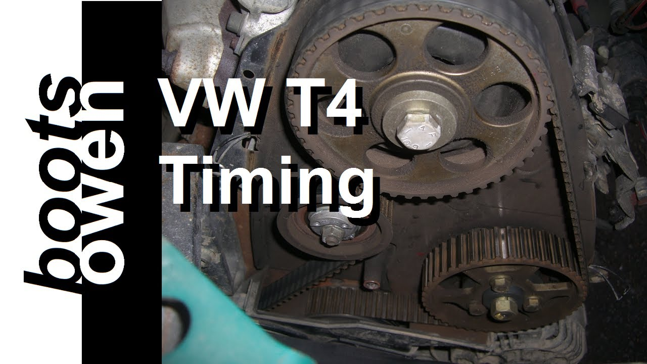 Vw Eurovan Camper >> VW T4 1.9 ABL Cambelt Timing Belt Change - YouTube