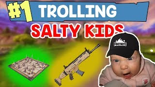 Making Kids ALT + F4 to quit the game - Fortnite TROLLS