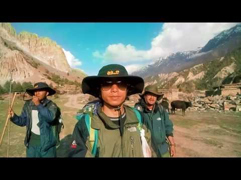 Travel Video: Umesh in Manang Trip, April 2017 x Fusemachines