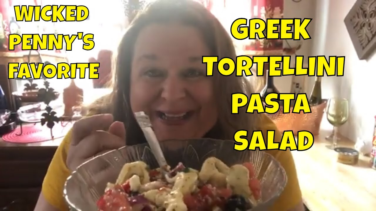 Greek Salad How To Make Greek Tortellini Pasta Salad With Wicked
