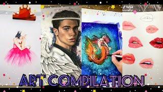 Tik Tok ART Compilation 2019   TOP Tik Tok