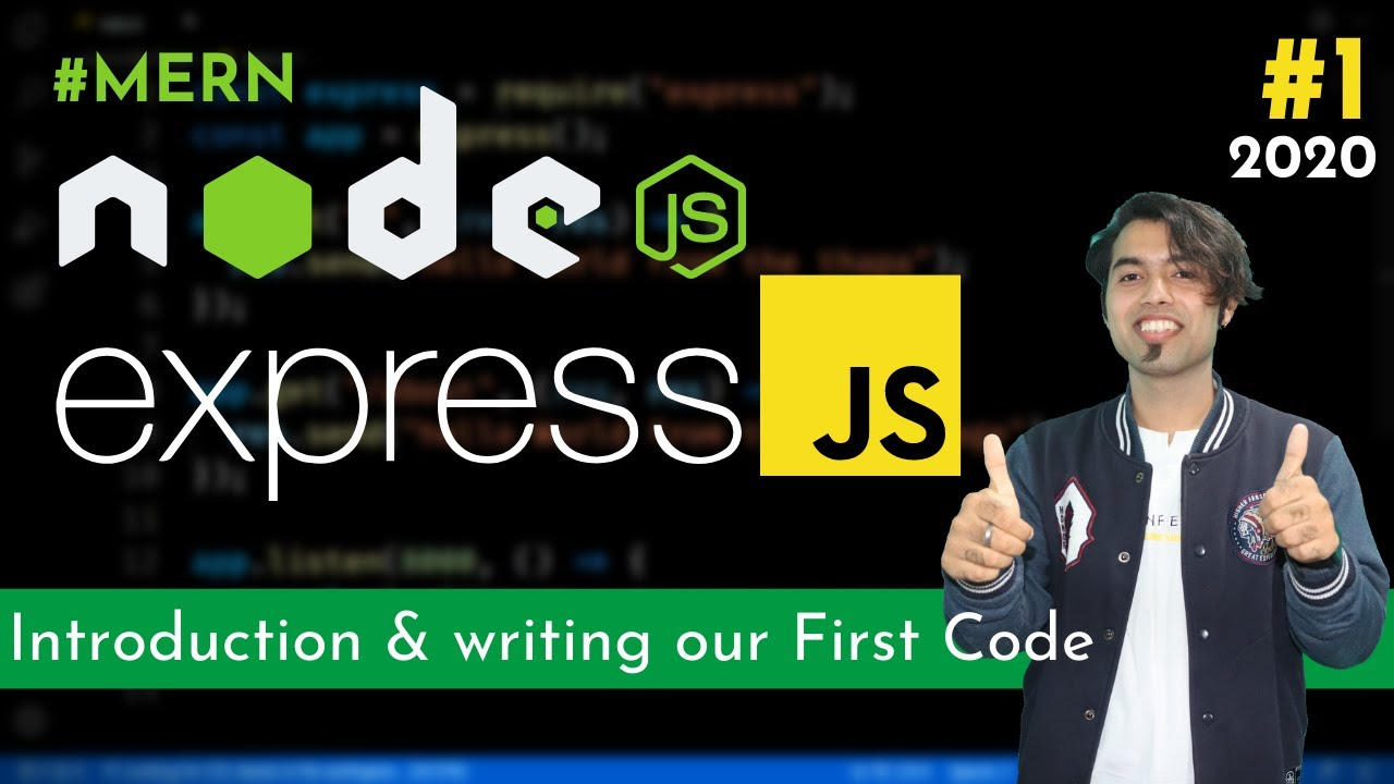 Express JS Introduction, Setup, IDE,First Program in Express JS Tutorial in Hindi in 2020