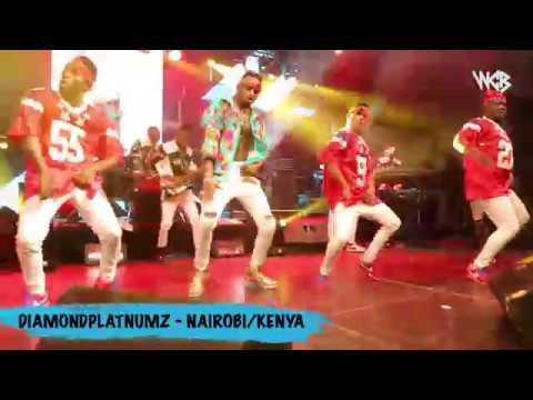 Diamond Platnumz - Live Performance at Koroga Festival / Nairobi Kenya (part 2)