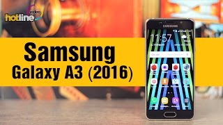 видео Samsung Galaxy A3 SM-A310F: обзор характеристик смартфона 2016 года