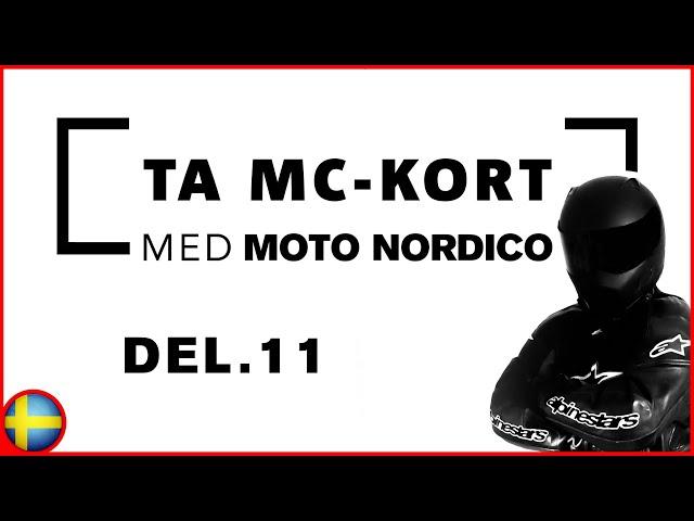 Kurvtagning, Motstyrning & Kurvteknik | Steg För Steg På Vägen Till Motorcykelkörkort | Del 11