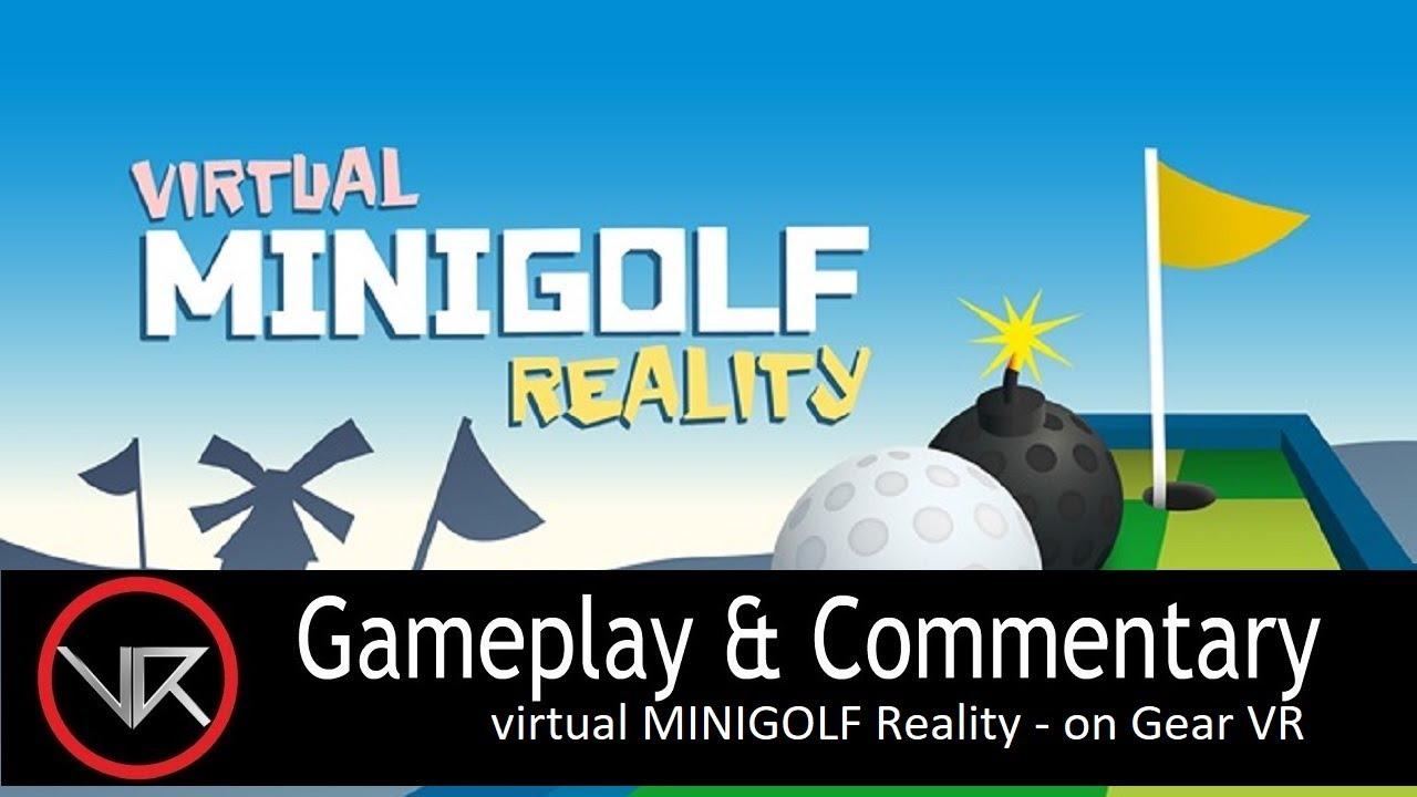 2da3fd111a5d The VR Shop - virtual MINIGOLF Reality - Gear VR Gameplay - YouTube