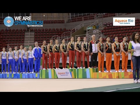 HIGHLIGHTS - 2016 Olympic Test Event, Rio (BRA) - Men's Team Competition - Part 1