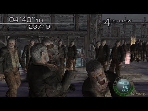 Resident Evil 4 - The Mutated Don Estaban VS Don Esteban's Army (Killer 7 Mania) HQ