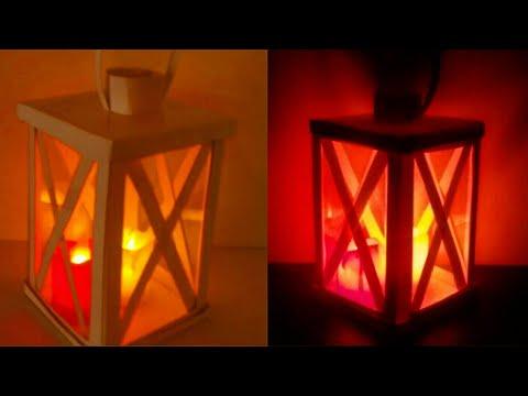 Paper Lantern /How to make paper lanterns/ Home decor