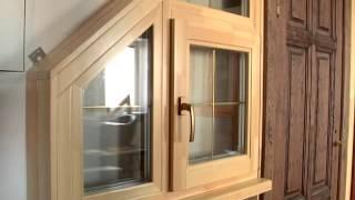 Окна Салют - окна из клееного бруса(, 2013-05-14T15:24:52.000Z)
