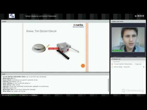 Webinar-Yangın Algılama ve Kontrol Sistemleri