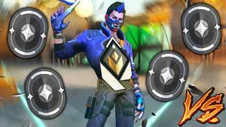 Valorant: 1 Radiant Y๐ru GOD VS 4 Iron Players! - Who Wins?