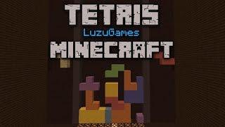 TETRIS EN MINECRAFT - [LuzuGames]