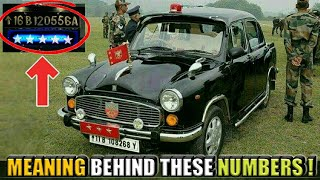 Meaning Behind Number Plates Of Military Vehicl...