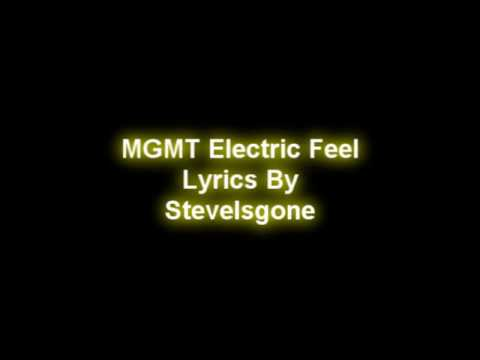 MGMT Electric Feel Lyrics