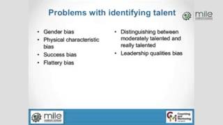 Problems With Identifying Talent | Prof. David Clutterbuck