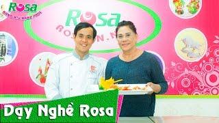 Cảm nhận của học viên đến từ Australia học tỉa rau củ quả tại Rosa