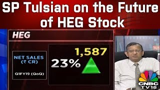 SP Tulsian on the Future of HEG Stock | CNBC TV18